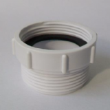 McAlpine Kitchen Sink Waste Thread Adaptor Euro to UK T12A-F - 39004016